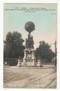 PARIS - Avenue Des Ternes - Monument à La Mémoire Des Aéronautes Du Siège De Paris (Par Bartholdi) - District 17