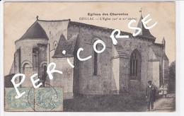 17  Ozillac  église Des Charentes - Altri Comuni