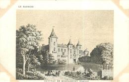 CHÂTEAU DE BOURLEMONT - (88 - VOSGES) - RARE & Belle édition SUPRA - Paris  (9 X 14 Cm). - France