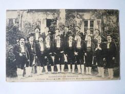 BAGNERES-de-BIGORRE  (Hautes-Pyrénées)  :  L'Oïllado Mountagnoto  (Chanteurs Montagnards)     1909 - Bagneres De Bigorre