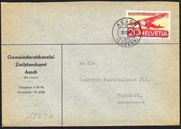 Svizzera/Suisse/Switzerland: Lettera, Lettre, Letter, (Fokker FVII) - Altri Documenti