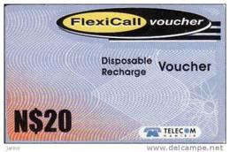 Namibia, Telecom, FlexiCall Voucher - Namibie