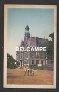 DF / 12 AVEYRON / DECAZEVILLE / ENFANTS POSANT DEVANT L'HÔTEL DE VILLE / ANIMÉE / CIRCULÉE EN 1947 - Decazeville