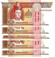MONGOLIE 5 ТӨГРӨГ (TÖGRÖG) ND (1993) P-53 NEUF 5 PCS [MN405a] - Mongolie