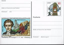 Deutschland Germany 1997 - Schloss Lichtenstein - Stuttgart (markenbild: Europa-Marke) - Schlösser U. Burgen