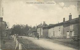 - Haute Marne -ref-52643- Puellemontier - La Grande Rue - Attelage Carriole - Attelages - Carte Bon Etat - - France