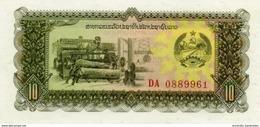 LAOS 10 KIP ND (1979) P-27 UNC [ LA503a ] - Laos