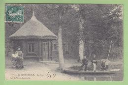 BONNETABLE, Forêt : Le Lac, Barque Et Kiosque. 2 Scans. Edition Vivien - Bonnetable