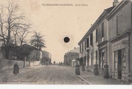 VILLEFRANCHE-d'ALBIGEOIS  - Jardin Pezous - Villefranche D'Albigeois