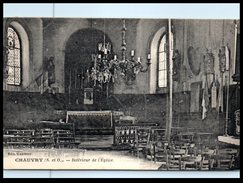 95 - CHAUVRY --  Intérieur De L'Eglise - France
