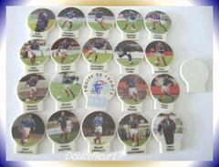 Foot , Les Rois Du Mondial ...Série Complète De 20  Fèves ... Ref. AFF : 77-1998 ...(pan 0031) - Sports