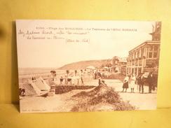 C.P Les Rosaires ( Côtes D'Armor 22 )  Plage Des Rosaires Et La Terrasse De L'Hôtel Rosaria. - Altri Comuni