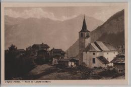 L'Eglise D'Inden - Route De Loeche-les-Bains - Photo: Chr. Meisser No. 4812 - VS Wallis