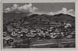 Vercorin - Vue Generale - Photo: Perrochet No. 7187 - VS Valais