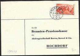 Svizzera/Suisse/Switzerland: Lettera, Lettre, Letter, (Pro Juventute 1944) - Pro Patria