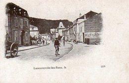 CPA - LANEUVEVILLE-les-RAON (88) - Aspect De La Rue Principale Dans Les Années 1890 - 1900 - France