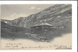 16693 -  Le Chalet De La Dôle Vaches Circulée En 1903 - VD Waadt