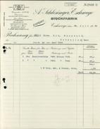 Eschwege, A. Schlesinger, Stockfabrik, Rechnung Vom 26.7.1929 (1000-40) - Allemagne