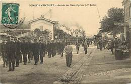 - Meurthe Et Moselle -ref-B551- Igney Avricourt - Gare - Train - Saint Cyriens -- Saint Cyr - St Cyr - Ecole - Yvelines - France