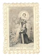 TRES JOLI CANIVET SEIGNEUR OUVREZ MON COEUR A VOTRE LOI SOUVENIR DE VICTORINE LEFEVRE - Devotion Images