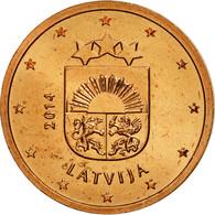 Latvia, 2 Euro Cent, 2014, SPL, Copper Plated Steel, KM:151 - Lettonie