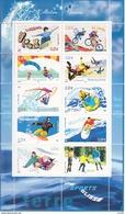 France Bloc N° 76** Sports De Glisse Bloc Neuf 2004 - Neufs