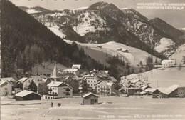 12072) SELVA DI GARDENA WOLKENSTEIN IN GROEDEN WINTERSPORTS CENTRALE VIAGGIATA 1951 - Pistoia