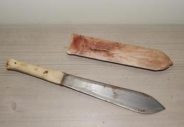 Couteau Poignard Africain Origine Inconnue - 30.5 Cm - Knives/Swords