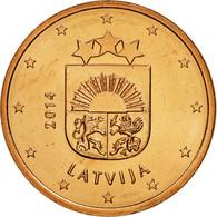Latvia, 5 Euro Cent, 2014, SPL, Copper Plated Steel, KM:152 - Lettonie