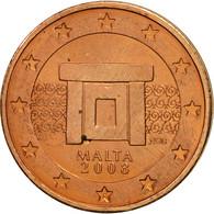 Malte, 2 Euro Cent, 2008, SPL, Copper Plated Steel, KM:126 - Malta