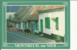 CPM MONTREUIL SUR MER LA RUE DU CHAPE EN BAS - Montreuil