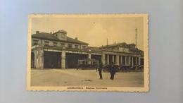 CARTOLINA ALESSANDRIA - STAZIONE FERROVIARIA - Alessandria