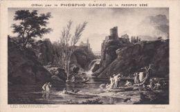 Phospho Cacao - Phospho Bébé - Les Baigneuses - Vernet - Werbepostkarten