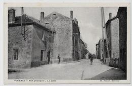 CPA Vocance Ardèche Non Circulé La Poste - Autres Communes