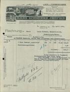 Krefeld, Hans Schminke, Lack- Und Farbenfabrik, Rechnung Vom 23.4.1924 (4050-12) - Germany