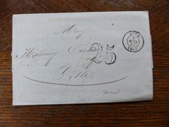 Lot Du 04.05.17_ LSC De Lyon Taxée 25 De   Voir  Verso  De 1852;a Voir - 1849-1876: Période Classique