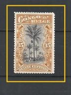 "CONGO BELGA 1909 Definitive Issues - Inscription: ""CONGO BELGE"" USED"