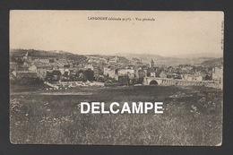 DF / 48 LOZÈRE / LANGOGNE / VUE GENERALE / CIRCULÉE EN 1906 - Langogne