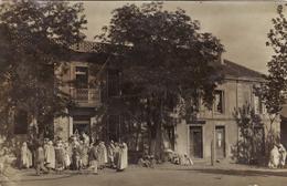 Bouira - Crédit Foncier - Carte Photo 1906 - Autres Villes