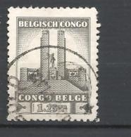 CONGO BELGA   - 1941 King Albert Memorial    USED - Belgian Congo