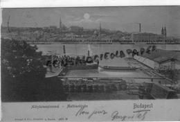 HONGRIE - BUDAPEST - MATYASTEMPLOMMAL - MATHIASKIRCHE - CARTE PRECURSEUR - Hongrie