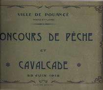 Carnet 49 Pouancé Concours De Pêche & Cavalcade - Francia