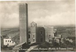 Y2662 Tarquinia (Viterbo) - Castello Contessa Matilde Di Canossa E Chiesa Di Santa Maria / Viaggiata 1955 - Altre Città