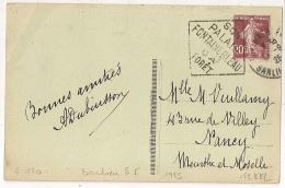 DAGUIN FONTAINEBLEAU BANLIEU S E. 1925. - Sellado Mecánica (Otros)