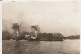 "Photo 14-18 Bâteau à Vapeur ""Kannengiesser III"" Sur Le Rhin ? (A170, Ww1, Wk 1) - Ships"