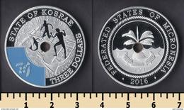 State Of Kosrae 3 Dollars 2016 - Micronesia