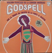 Dave &daniel Auteuil & + 33t. LP Comedie Musicale *Godspell* - Religion & Gospel