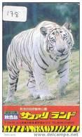TIJGER Tiger Tigre Op Telefoonkaart (178) - Oerwoud