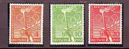 1952  BERLIN GERMANY  HELSINKI 3val Compl. MNH** - Neufs