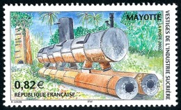 MAYOTTE 2002 - Yv. 133 **   Cote= 3,30 EUR - Vestiges Industrie Sucrière  ..Réf.AFA22624 - Mayotte (1892-2011)